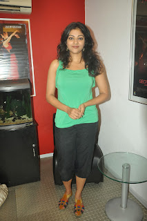 Abhirami Pictures in Sleeveless Top at Meiyyazhagi Movie Special Show ~ Celebs Next