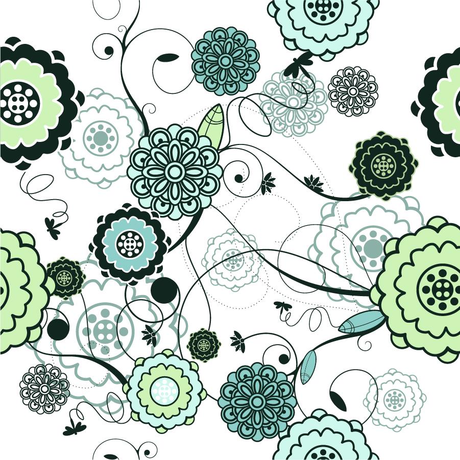 シームレスな花ビラの古風な ... : アルファベット ダウンロード : すべての講義