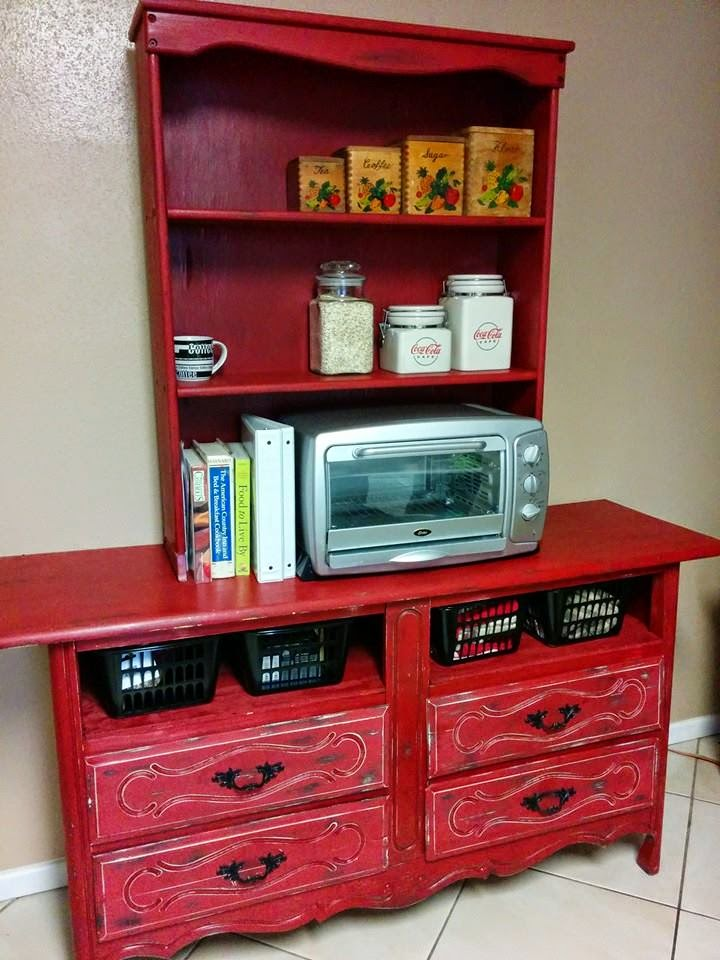 Bringing it about remake for a kitchen hutch for Kitchen remake