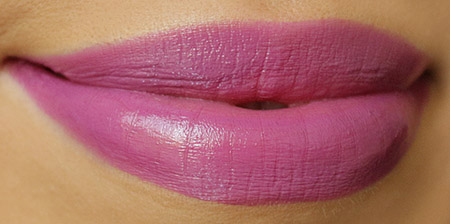 MAC Up the Amp Lipstick Swatch