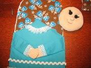 Прихватка рукавица своими руками из ткани с выкройками фото 53