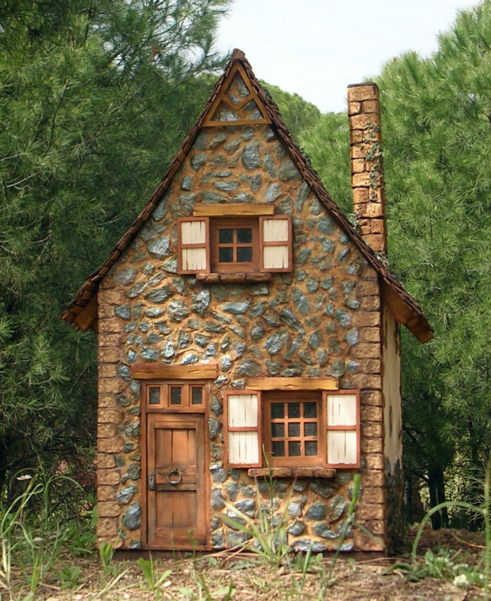 Miniaturas kriana la casa de la bruja n 6 salvaje de for Tiny stone cottage