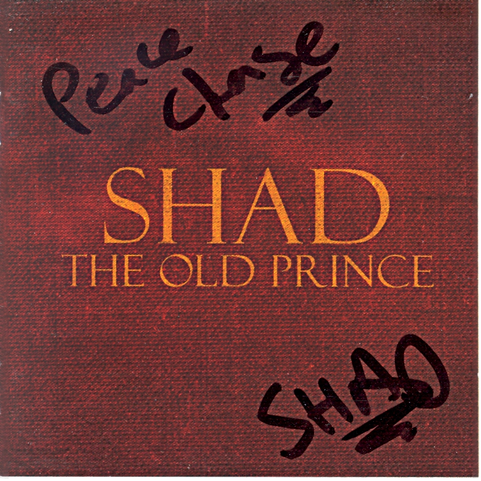 Shad Autograph