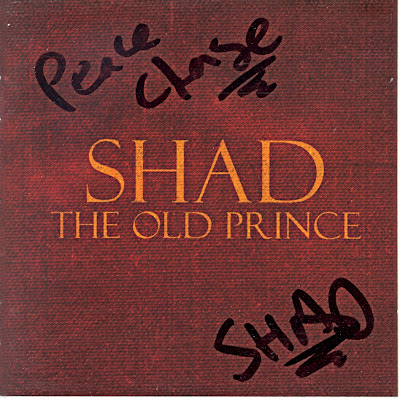 Shad, autograph, rapper, underground