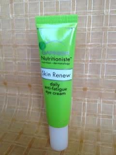 Garnier Nutritioniste Skin Renew Daily anti-fatigue eye cream walmart