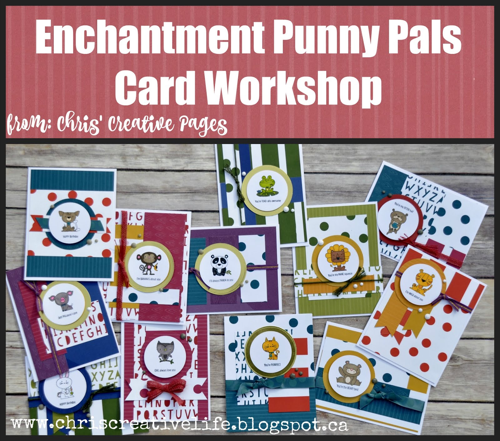 Enchantment Card Workshop