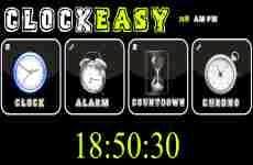 ClockEasy: reloj, alarma, cuenta regresiva y cronómotro online para embeber a cualquier blog ó sitio web