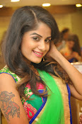 Anukruthi Glam pics in half saree-thumbnail-14