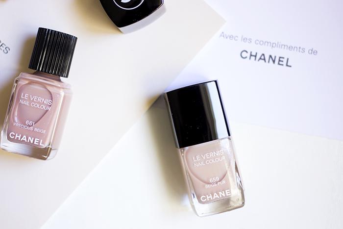 Chanel Les Beiges Le Vernis Beige Pur Precious Beige