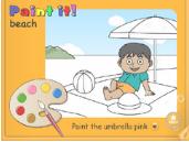 Aprende inglés mientras coloreas
