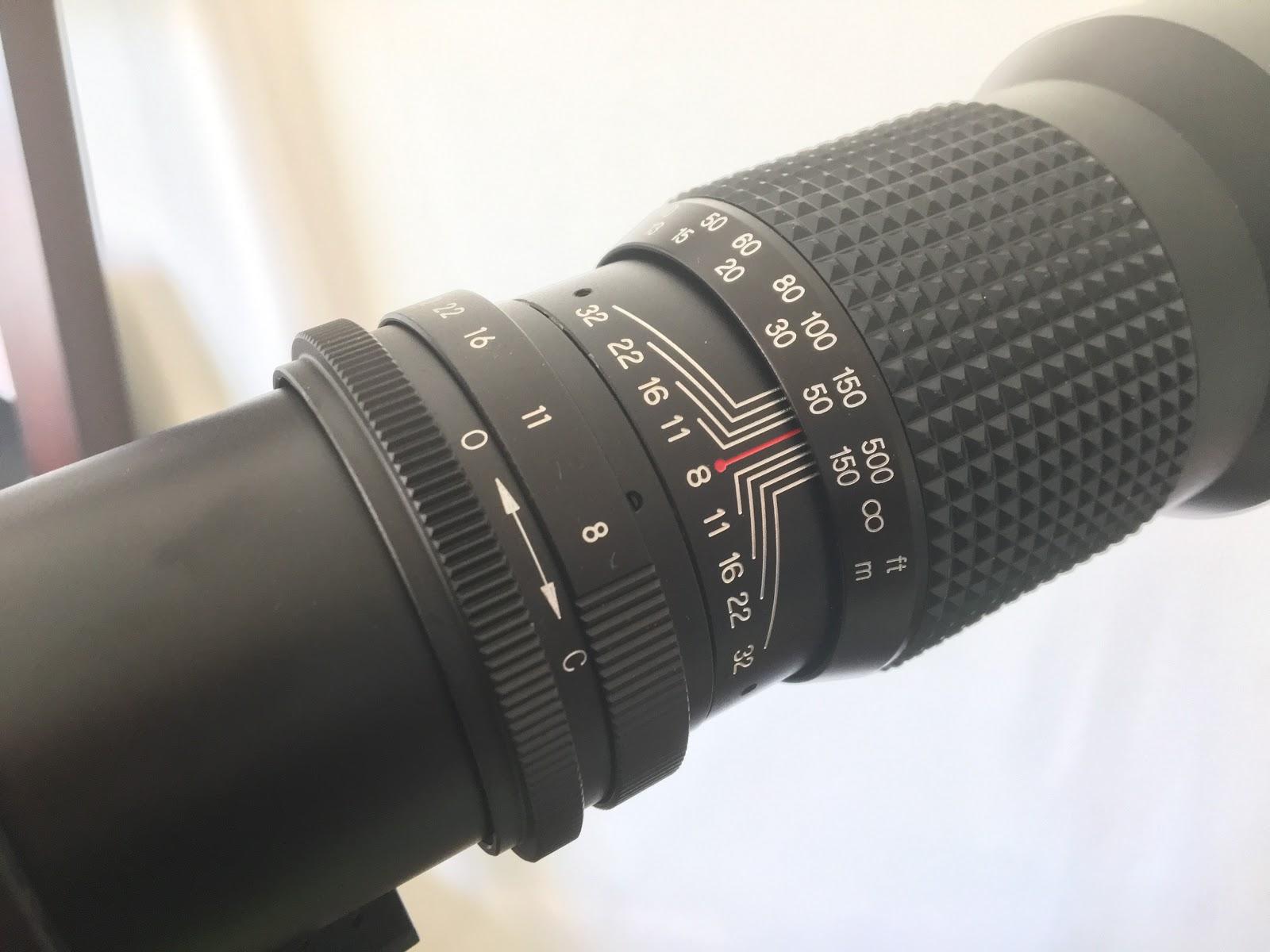 Phoenix 500mm f 8 telephoto lens review