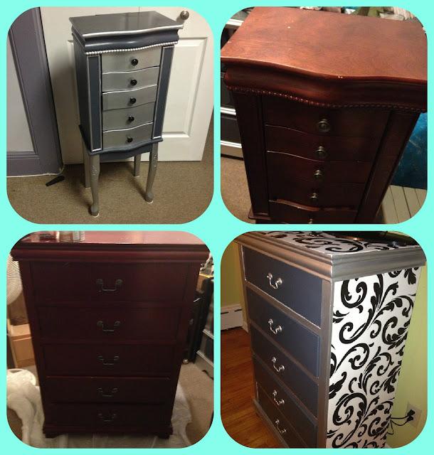 a jewelry dresser to match