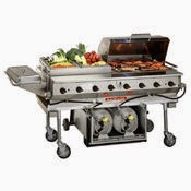 MagiKitch'n Transportable Propane Grill