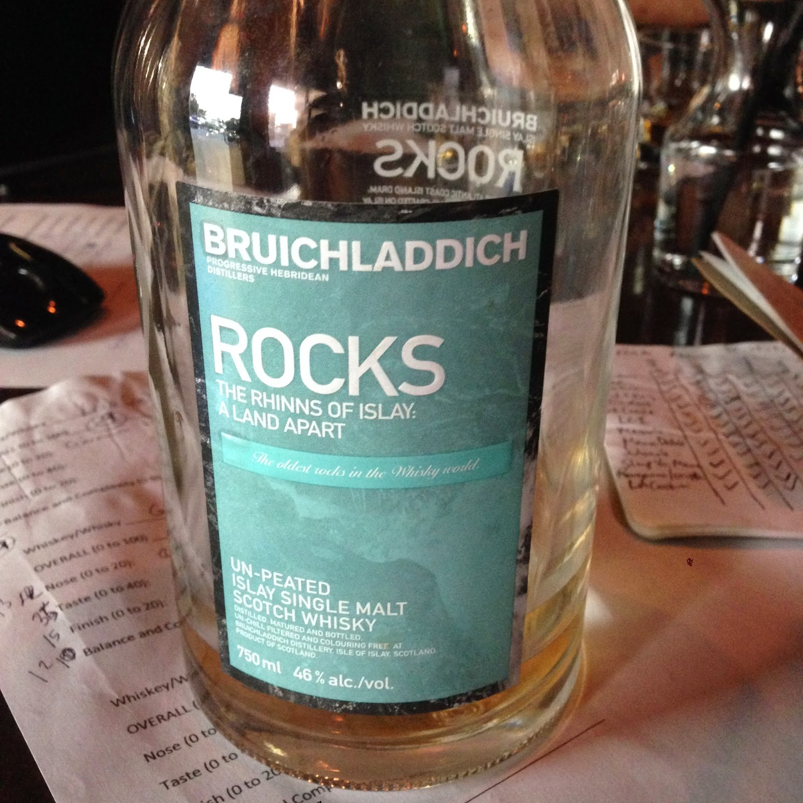 Bruichladdich Rocks Scotch Whisky