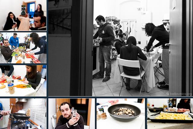 Locanda Bedarumica - attuazione di un menù di fine anno - 2013