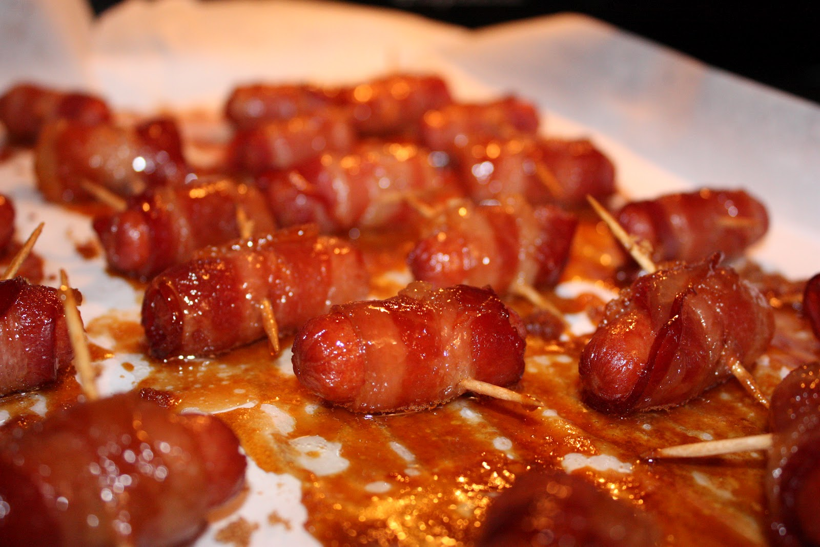 Sugar & Spice: Bacon Wrapped Smokies