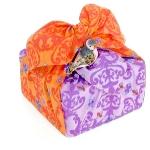 furoshiki paquete cuadrado
