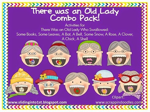 http://www.teacherspayteachers.com/Product/Old-Lady-Combo-Pack-Bell-Snow-Clover-Chick-Shell-255233