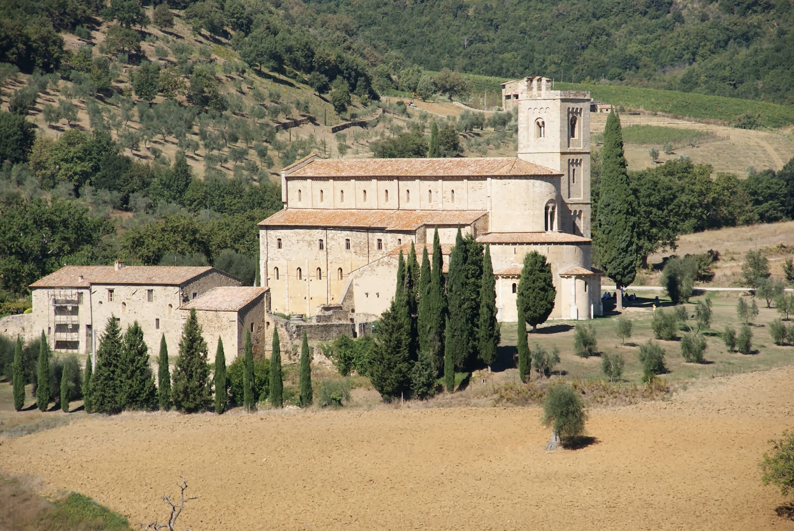 Opactwo San'tAntimo, Toskania, Włochy