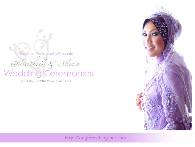 Shahril&Ana Wedding Ceremonies