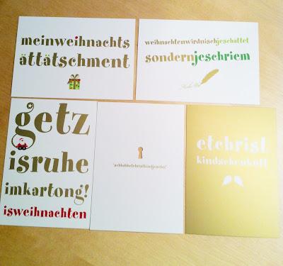 Weihnachtskarten Köln Edition von cityproducts.de
