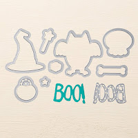 "Stampin'UP!'s ""Boo to You"" Framelits"