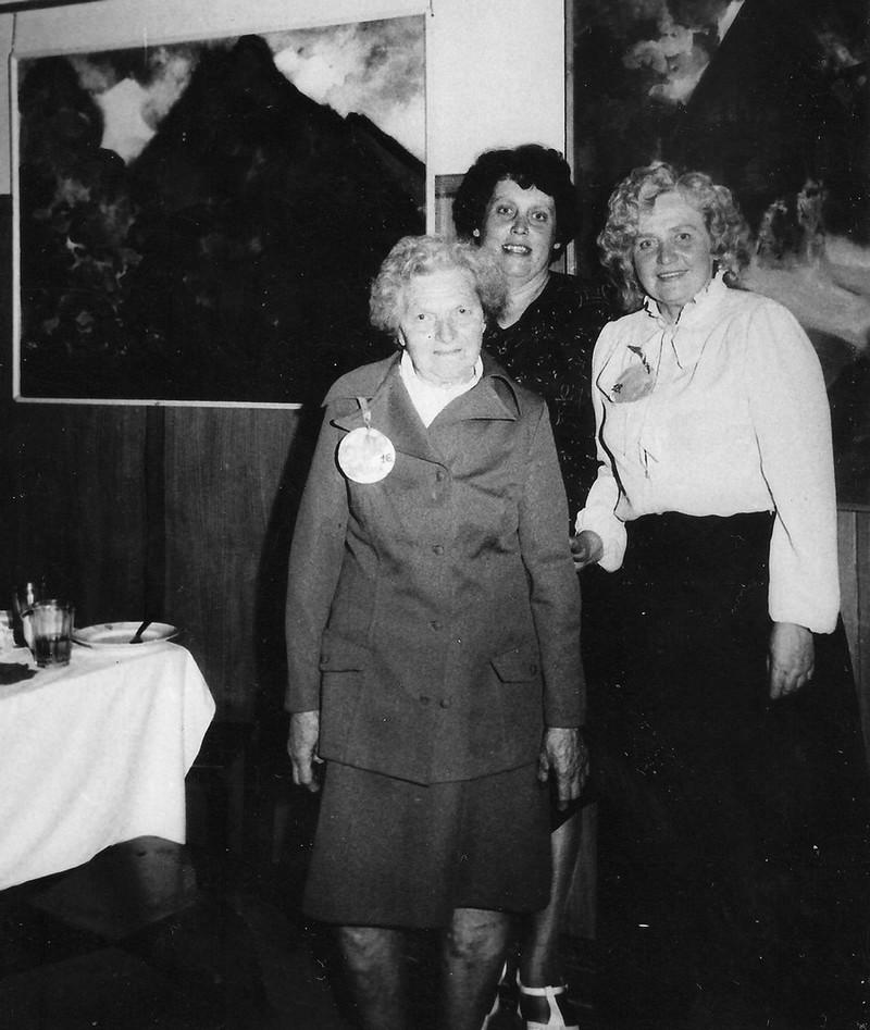 Pensionāru vakars Valles kultūras namā 1985. gadā - 3