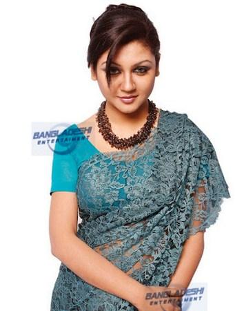 Bangladeshi Model And Film Actress Joya Ahsan