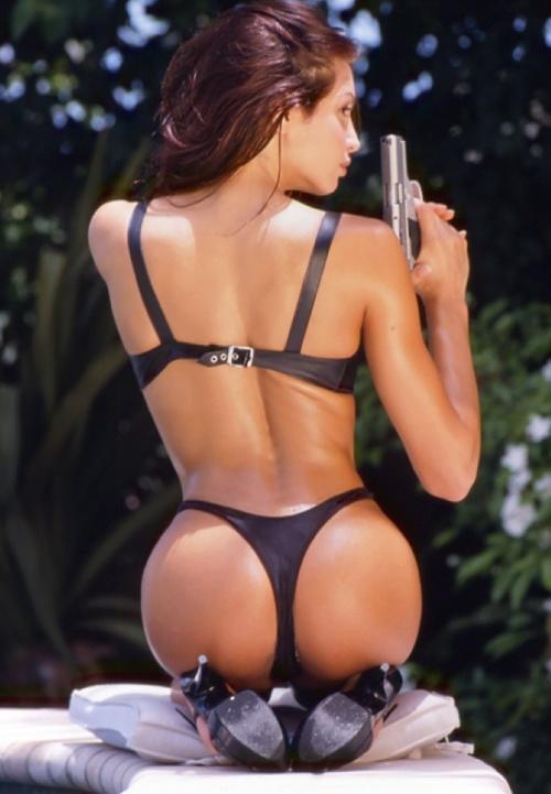 boob gun holder
