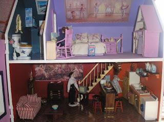 Manualidades para regalar, casa de muñecas 2