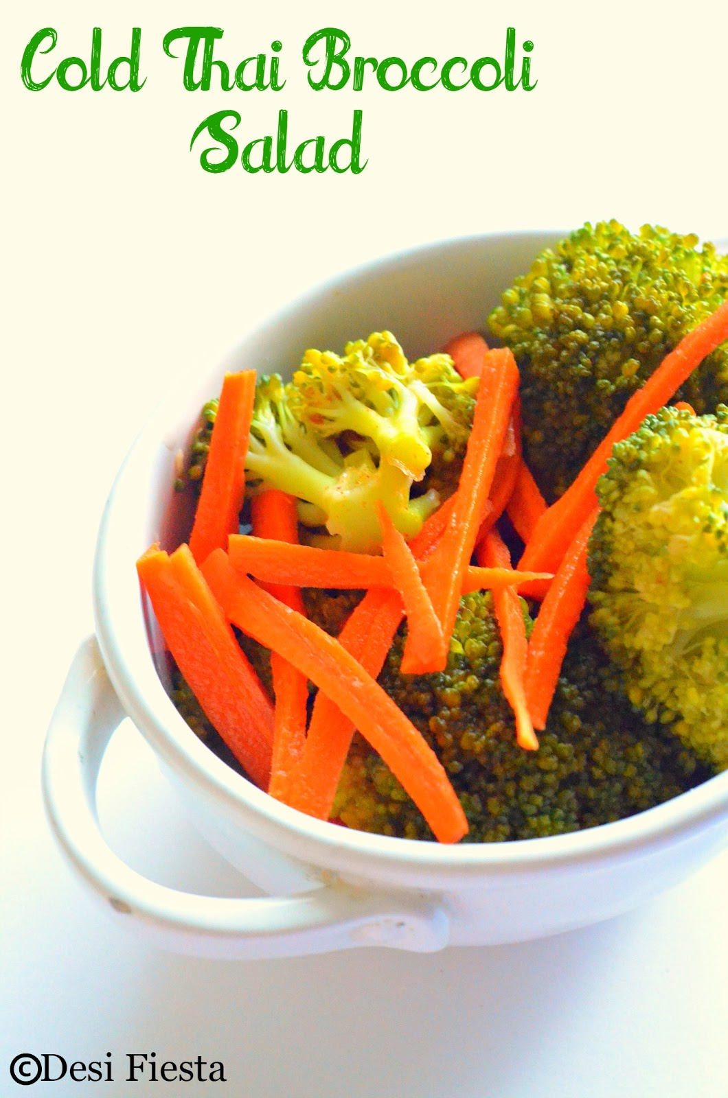 Thai broccoli salad