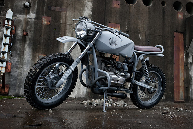Quartermaster Motorcycle [ Quartermaster Motorcycle Images below | Quartermaster Motorcycle price yet to be announced ] The Quartermaster Motorcycle is a URAL x ICON collaborative project designed to increase the long distance off-road capacity of the URAL Solo.