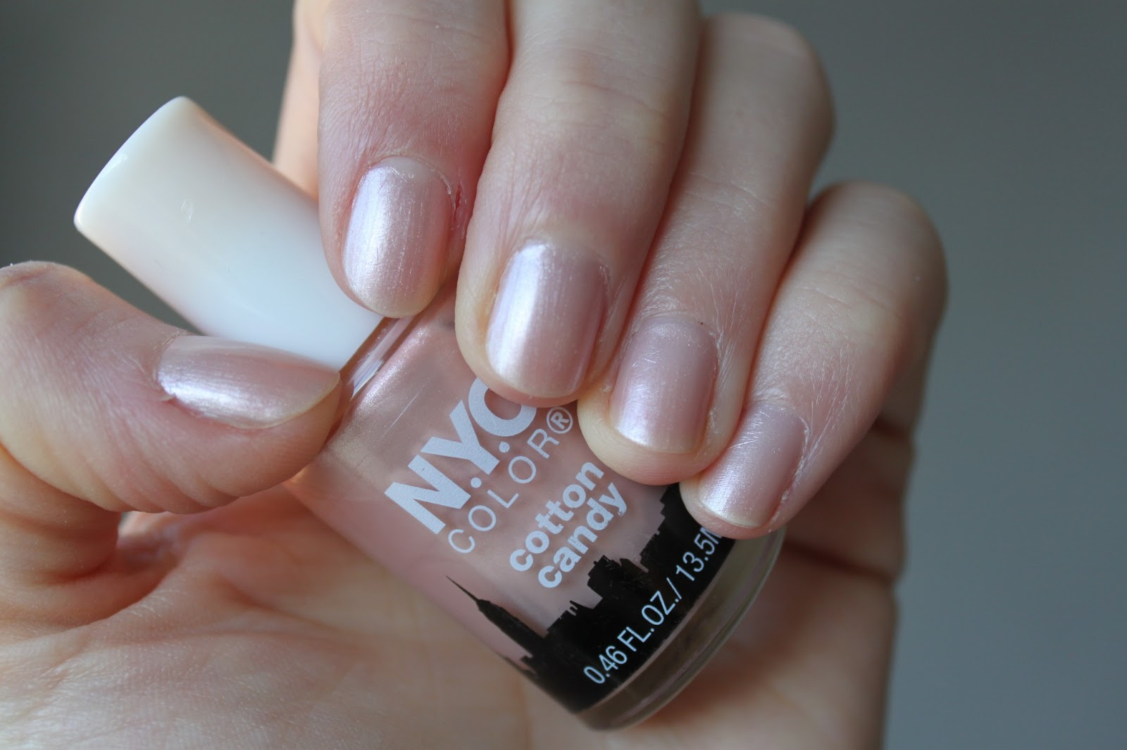 Australian Beauty Review: Nail polish of the week: NYC Cotton Candy