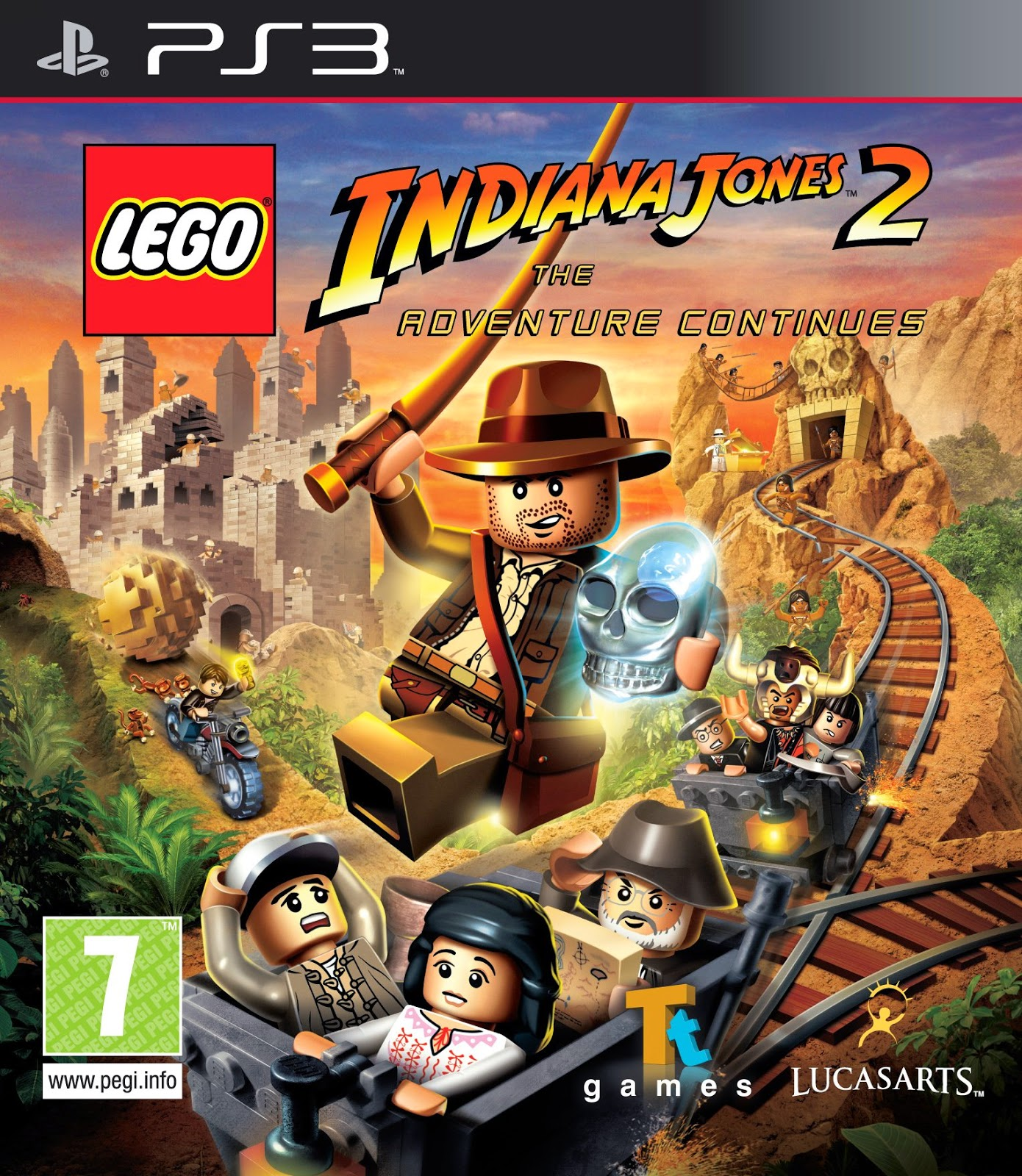 LEGO Indiana Jones 2: The Adventure PS3