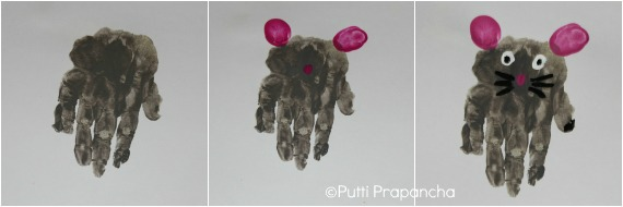 hand print mouse