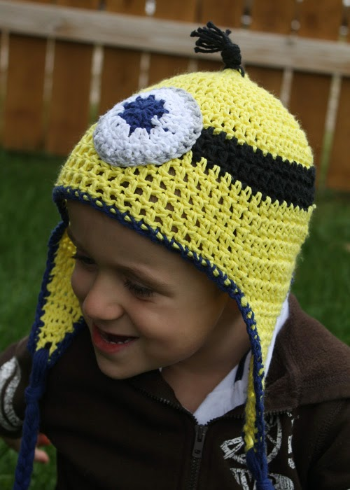 My Lil Pumpkin Patch Crochet Minion Hat