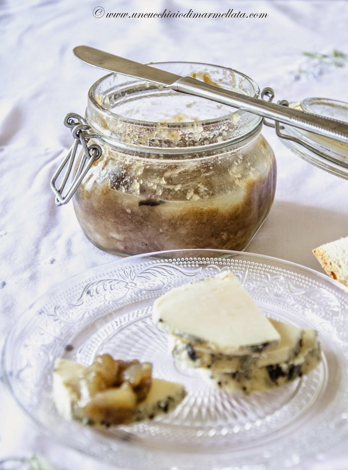 confettura di cipolle e vaniglia