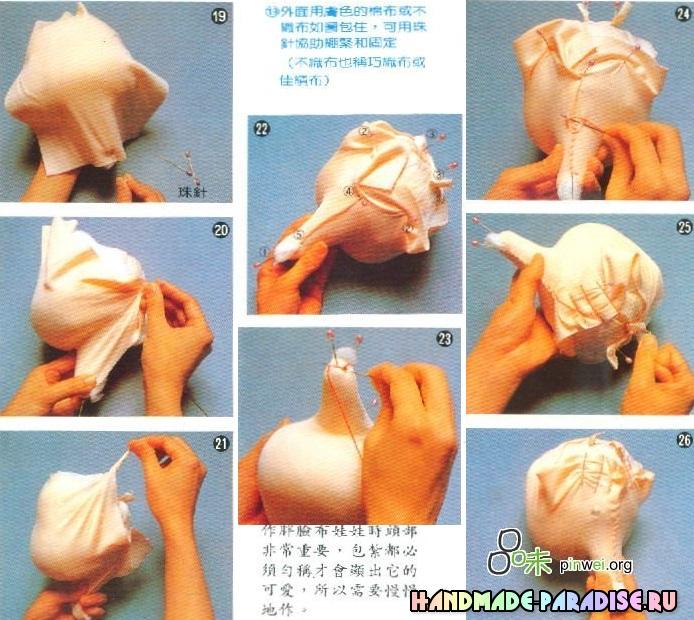Куклы Kyoko Yoneyama. Японский журнал