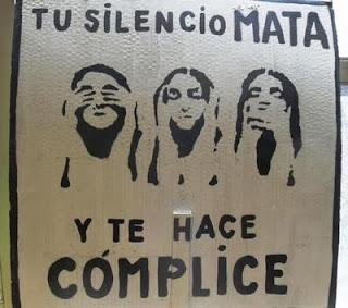 Silencio mata y te hace cómplice
