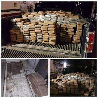 Decomisan 734 paquetes de cocaína en Ciudad Victoria, Tamaulipas