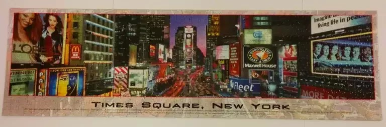 Times Square jigsaw puzzle by Buffalo Games