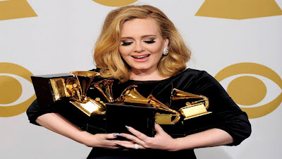 Adele The Winer - Six Grammy Awards Wallpapers