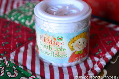 Snow from the North Pole, Elf Magic