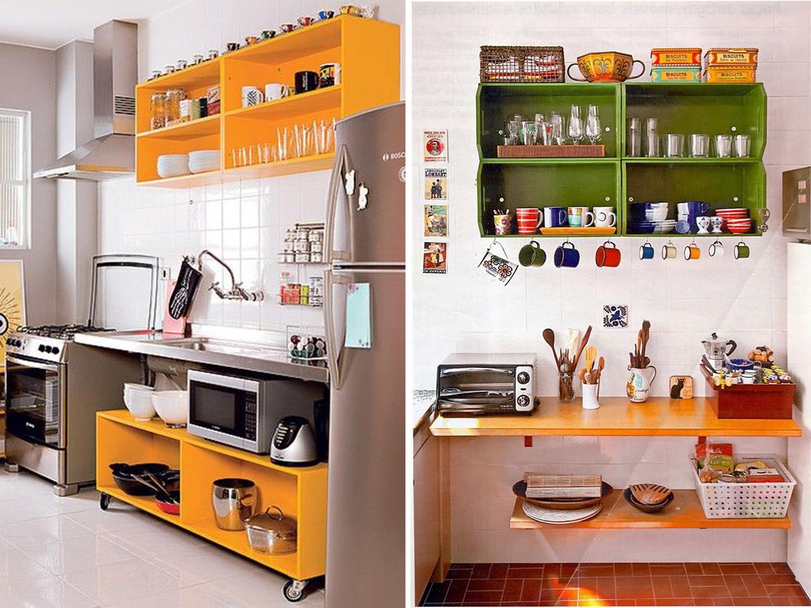 ideias para uma cozinha sem igual Vida Louca de Casada #4E5D0B 1152 864