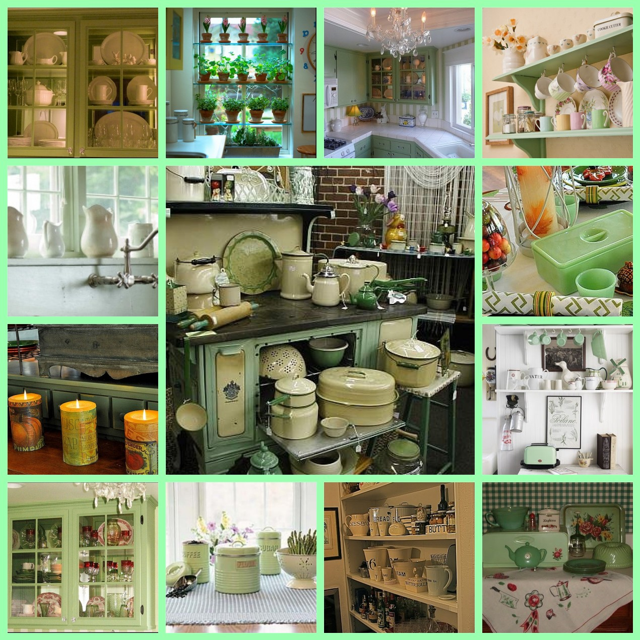 Dream Kitchen Rockland Maine: Estelle's: A Dream Kitchen...For The Love Of Jadite