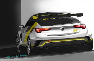 Sneak Preview' του νέου Opel Astra TCR