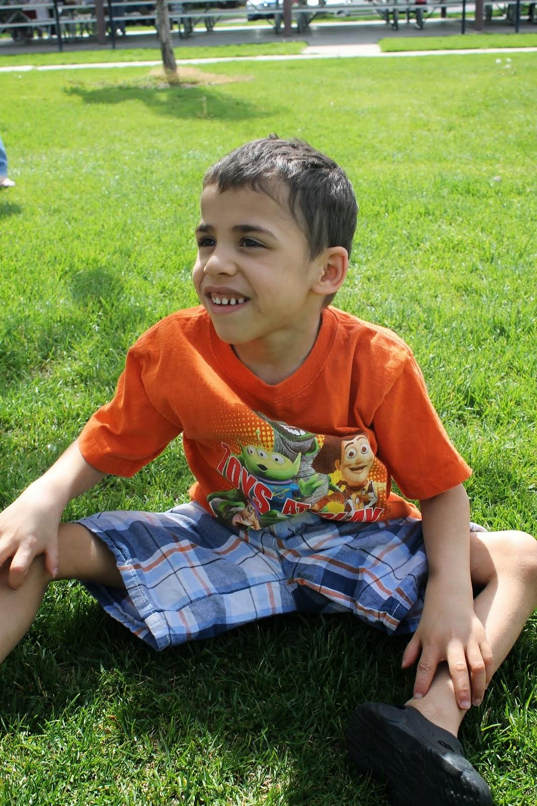Matthias age 7