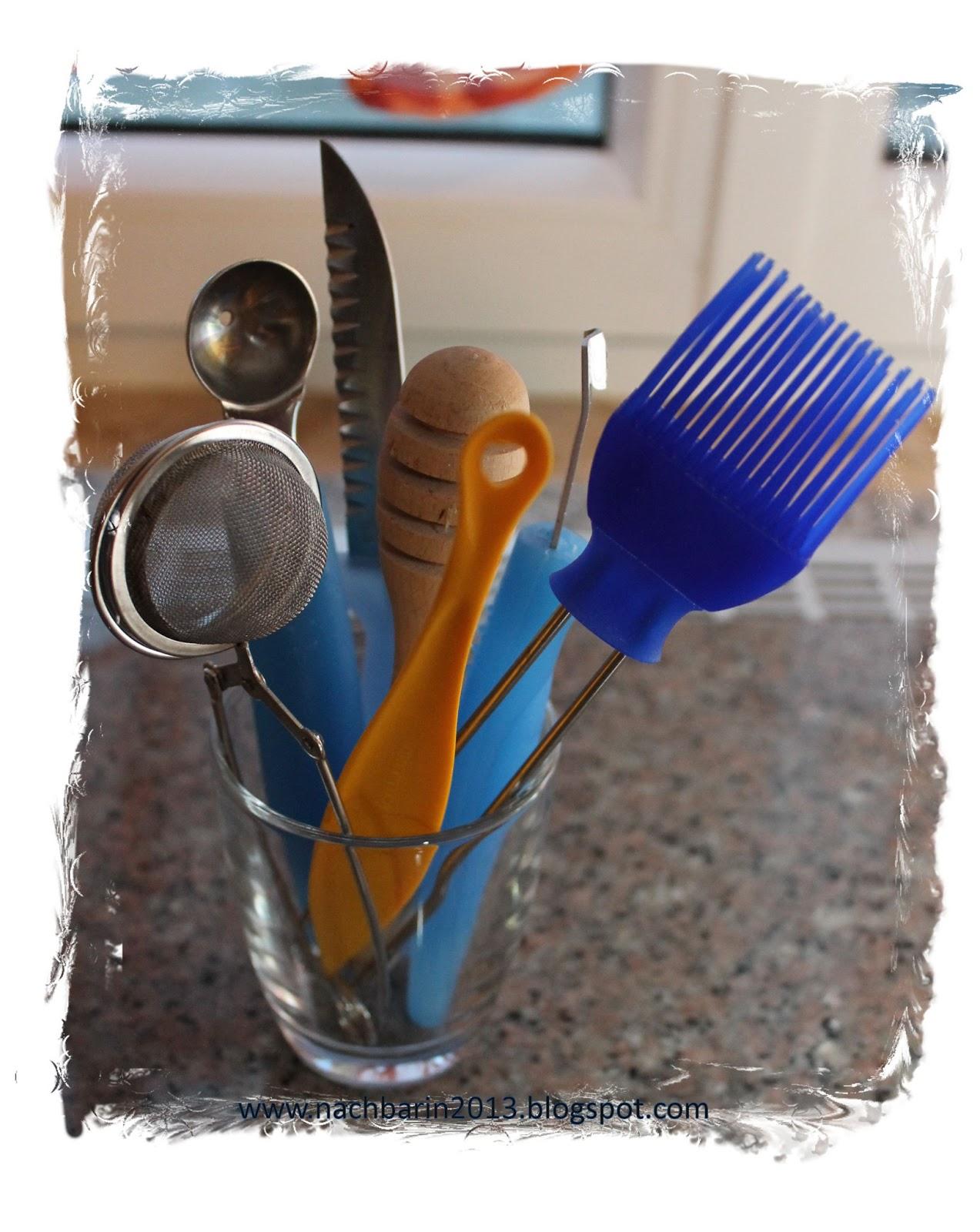 Die lästige Nachbarin: Kleine Küchenhelfer
