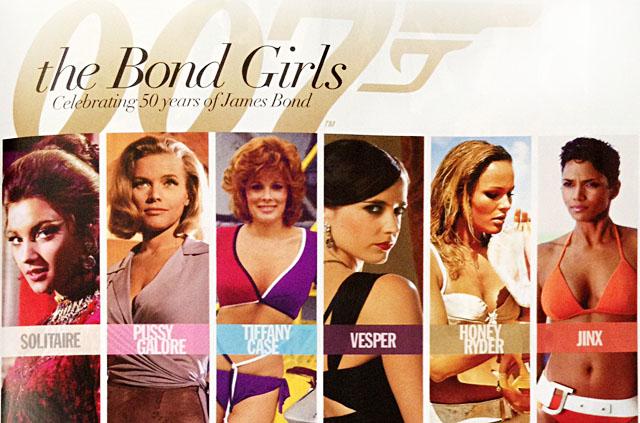 Bond Girls, 007, OPI Bond Girl Nail Polish Collection