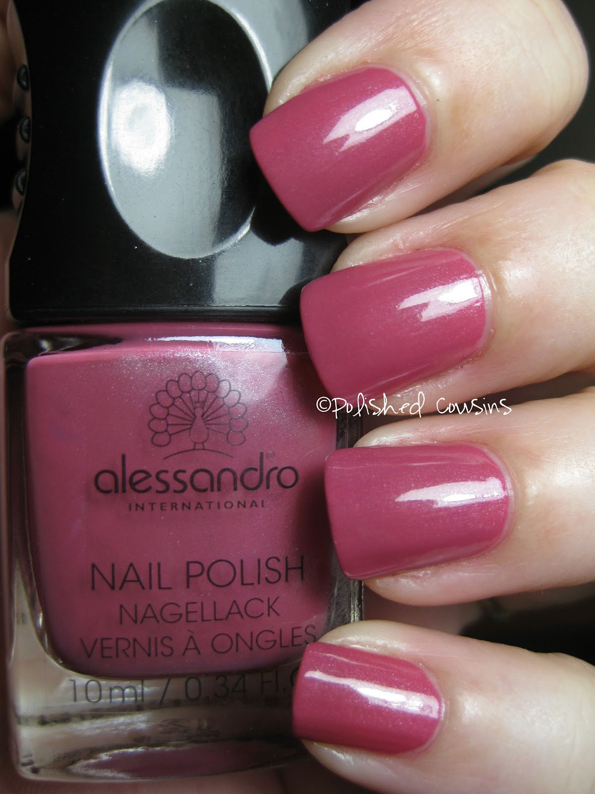 Polished Cousins: Alessandro- Sweet Blackberry